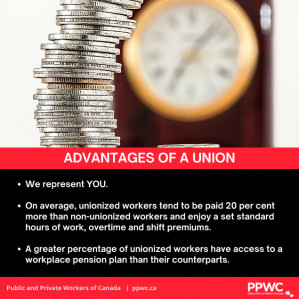 Advantages of a Union – Time and Money