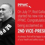 The PPWC Congratulates Rod Gallant on being Acclaimed as the National 2nd Vice-President!