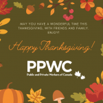 HAPPY THANKSGIVING FROM ALL OF US AT PPWC!