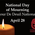 PPWC Honours the National Day of Mourning